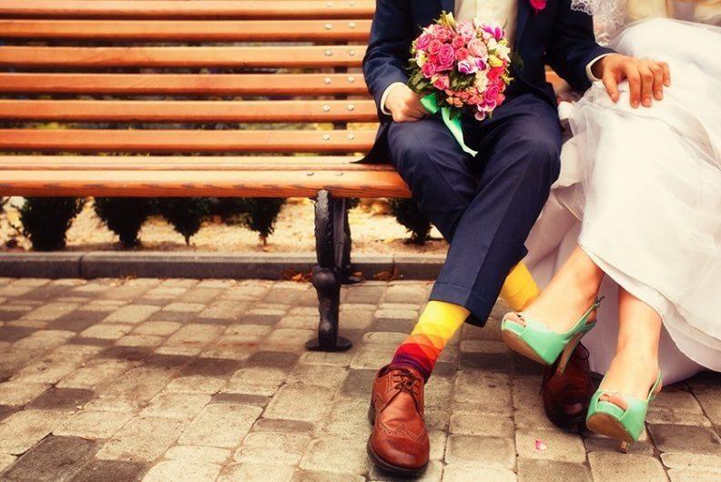 Flagship national weddings site web design and branding