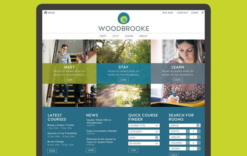 Woodbrooke eCommerce website design & build
