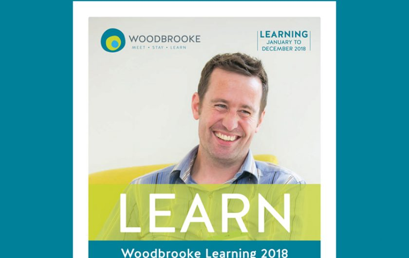 Printed 108 page course catalogue for Woodbrooke
